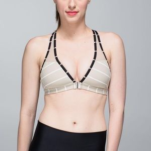 Lululemon Easy Breath Bra Cayman Stripe Mojave 6